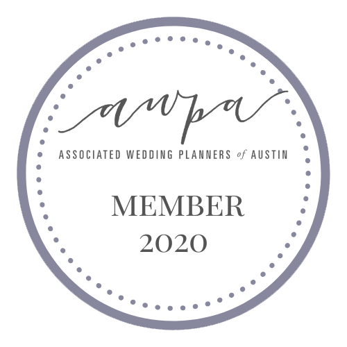 Associated Wedding Planners of Austin Member 2020